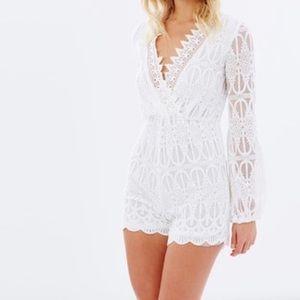 Bardot Dresses & Skirts - FINAL PRICE!Bardot romper❤️️