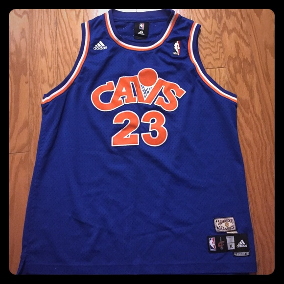 a7fd474c5 Adidas Shirts | Lebron James Hardwood Classics Throwback Jersey ...