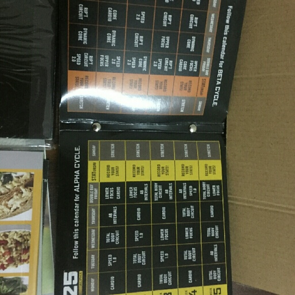 FOCUS T25 BETA/ALPHA WORKOUT SYSTEM 14 CD'S AND ME Boutique