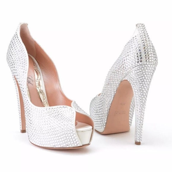 486336563c64 CLEARANCE All Swarovski Crystal shoes Aruna Seth Boutique