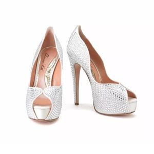 1088f0858391 Christian Louboutin Shoes - CLEARANCE All Swarovski Crystal shoes Aruna Seth