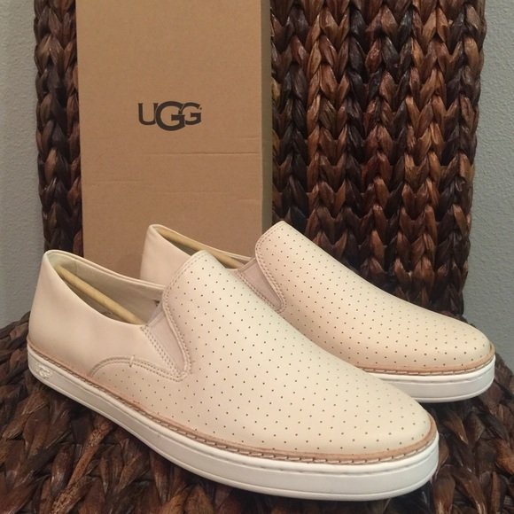 cf4eda0a633 UGG Keile Perforated Slip On NWT
