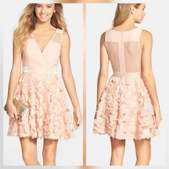 Nordstrom Dresses | Blushpink Short Junior Prom Dress | Poshmark