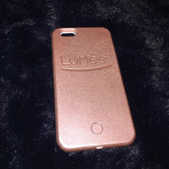 outlet store 32f4a 5edd4 iPhone 6+ Rose Gold Lumee Case