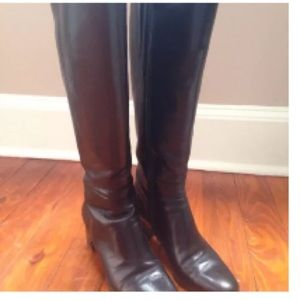 Butter Shoes Shoes - Butter Black Leather Tall Boots