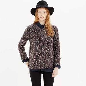 Madewell Sweaters - Madewell Firelight Marled Pullover Purple Sweater