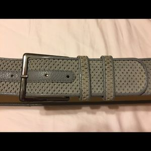 Kenneth Cole Accessories - Kenneth Cole Gray Suede Belt