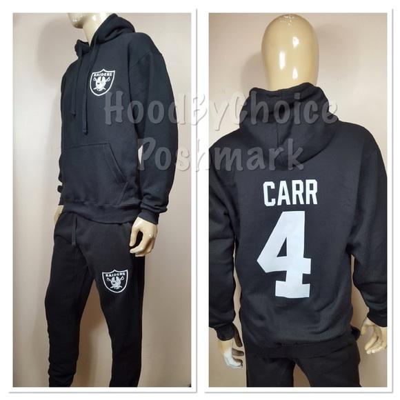 0a40da2902 Men Raiders Sweatsuit/ Pants Set /Carr 4 Back Logo NWT