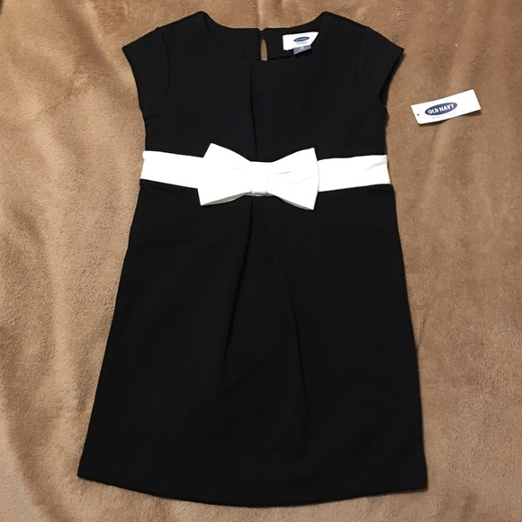 Old Navy Dresses Black And White Toddler Dress Includes Shoes