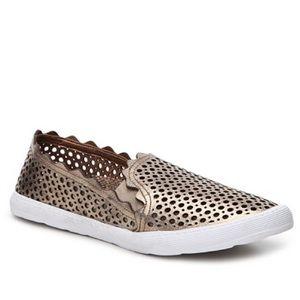 Klub Nico Serra Metallic Leather Slip-On Sneaker