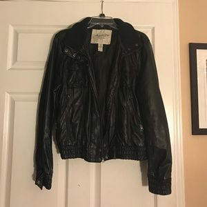 American Rag Jackets & Blazers - Black Leather Jacket - American Rag