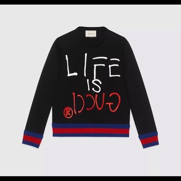 f1069587e98 Life of Gucci Sweatshirt small