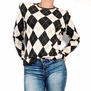 Valentino Sweaters - Vintage Valentino print sweater
