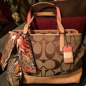 Coach Handbags - EUC* Authentic COACH L satchel & wallet combo💎💎