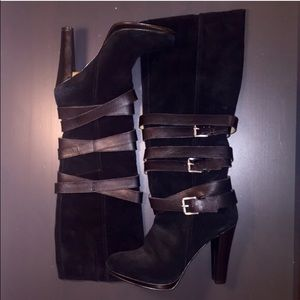 Shoes - Nine West Buckle Heeled boots
