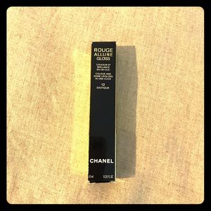 NWT Chanel gloss in exotique