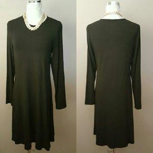 Eileen Fisher Dresses & Skirts - EILEEN FISHER JERSEY TUNIC DRESS PM