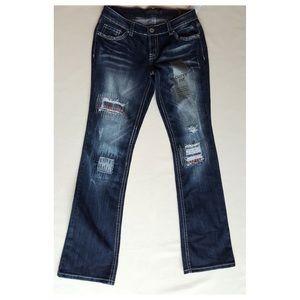 twentyone black Denim - SALE🎉 rue 21 Stretch Jeans Distressed Curvy