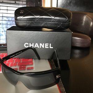 Authentic Chanel Sunglasses CC