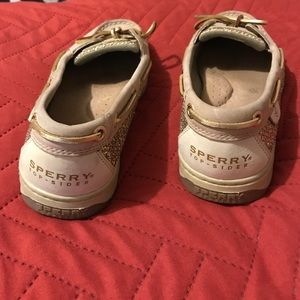 Sperry Shoes - Gold Sperry