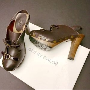 See by Chloe heeled sandals