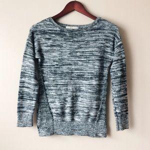 Sweaters - Marled gray sweater