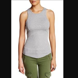 Free People Work It Out Ribbed Tank