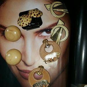 Vtg 80's .90's,earring bundle