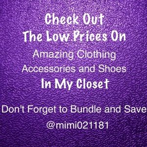Check Out My Closet🛍TOP-RATED SELLER