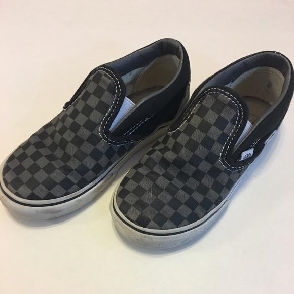 Vans Shoes | Boys Size Vans Toddler