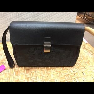 Dunhill Handbags - Dunhill travel bag or women's clutch w/wrist strap
