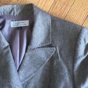 Tahari Jackets & Blazers - Tahari linen skirt suit. 😍