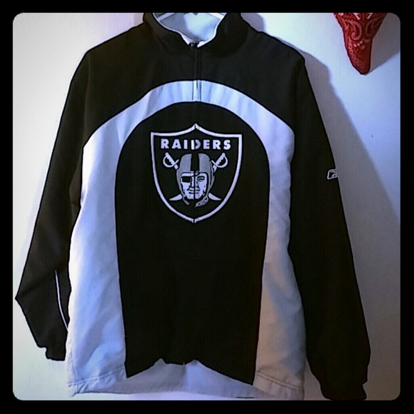 7b7f8c013b0ee Reversible Oakland Raiders Jacket