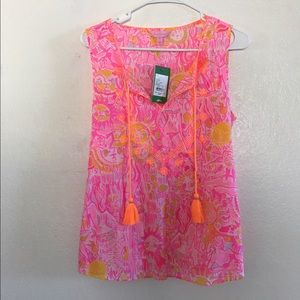 NWT Lilly Pulitzer Lauren Top in Kinis in the Keys