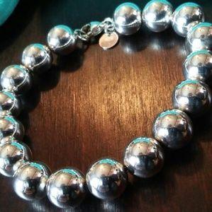 Tiffany & Co. 10mm bead bracelet