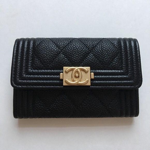 fbed47d97e67 CHANEL Bags | Sold Authentic Black Boy Card Holder | Poshmark