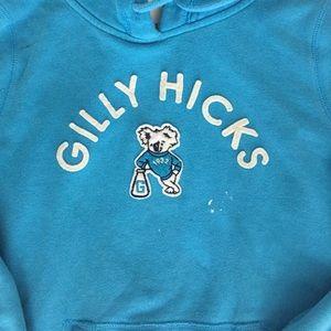 Light blue Gilly Hicks hoodie