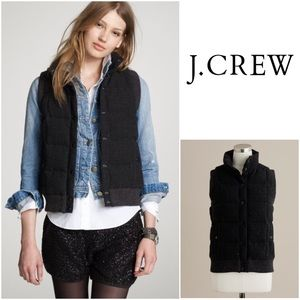 J. Crew Jackets & Blazers - • { J. Crew } • Glen Plaid Lodge Puffer Vest.