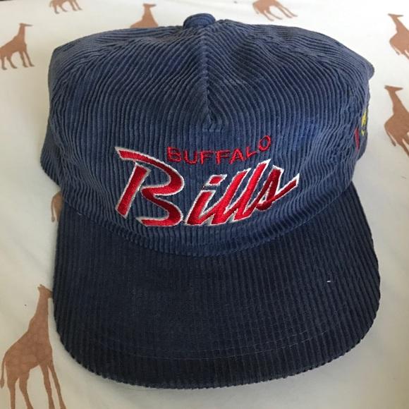 5b49f76ad47 Buffalo Bills vintage corduroy hat. M 586fdead981829b0fa00d691