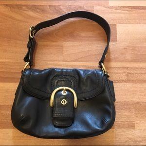Coach Handbags - Black coach bag pristine condition!