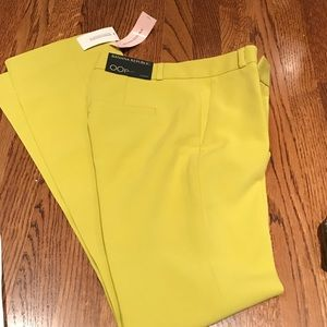 Banana Republic Pants - Chartreuse Logan trousers from Banana Republic
