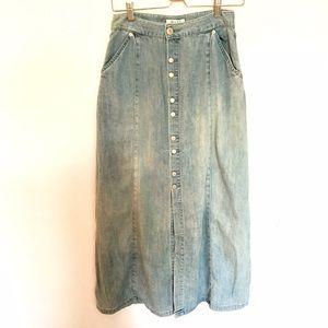 Rachel Comey Dresses & Skirts - Oufon Basic Denim Skirt