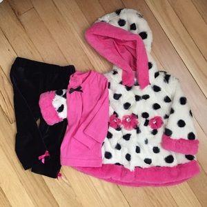 Little Lass Other - Little Lass-Coat, shirt, pants outfit/ 6-9 months
