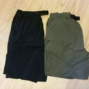 Pants - 2 pairs cargo shorts
