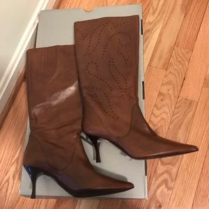 Brand new Brown Aldo Leather Boots Sz 7