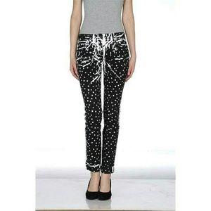 Dolce Gabbana Polka Dot Jeans  $575