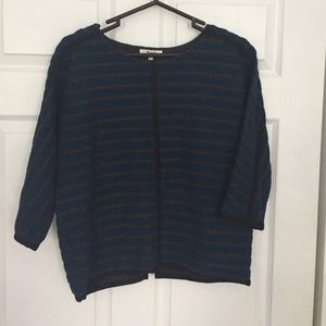 Madewell Zipper Back Top