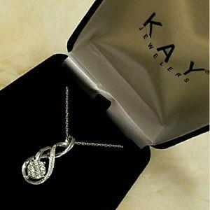 Kay Jewelers Jewelry - Kay Jewelers Diamonds and sterling silver pendant
