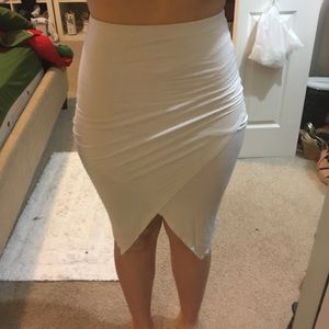 MISSGUIDED WRAP SKIRT
