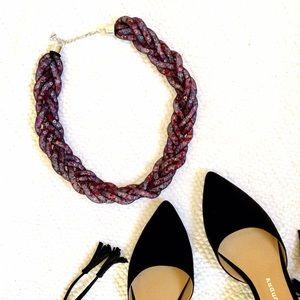 H&M Braided Statement Necklace